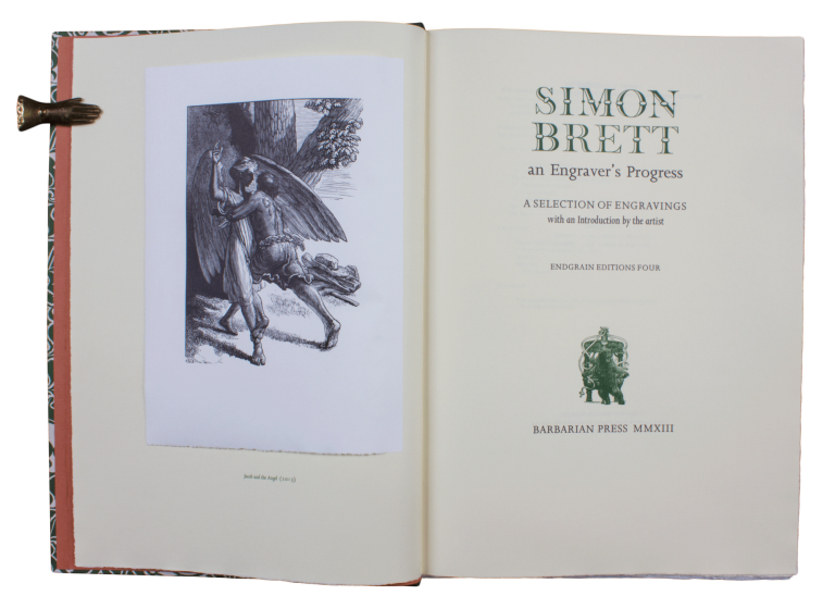 Simon Brett | An Engraver's Progress.; A Selection of Engravings | with an Introduction by the artist. SIMON BRETT.