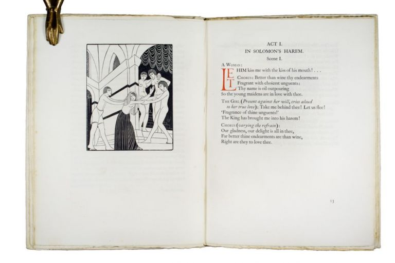 Song of Songs | called by many the Canticle of Canticles. Eric GILL.