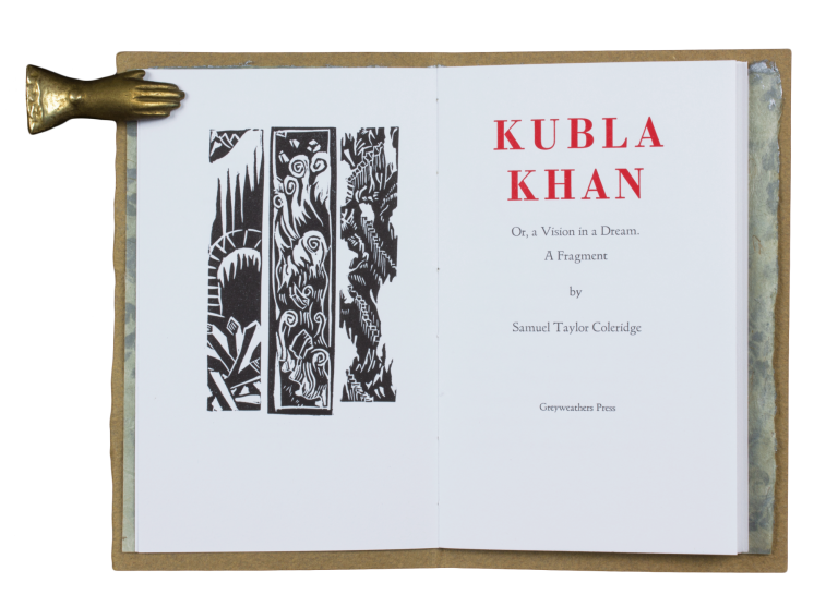Kubla Khan; | Or, a Vision in a Dream. A Fragment. Samuel Taylor COLERIDGE.