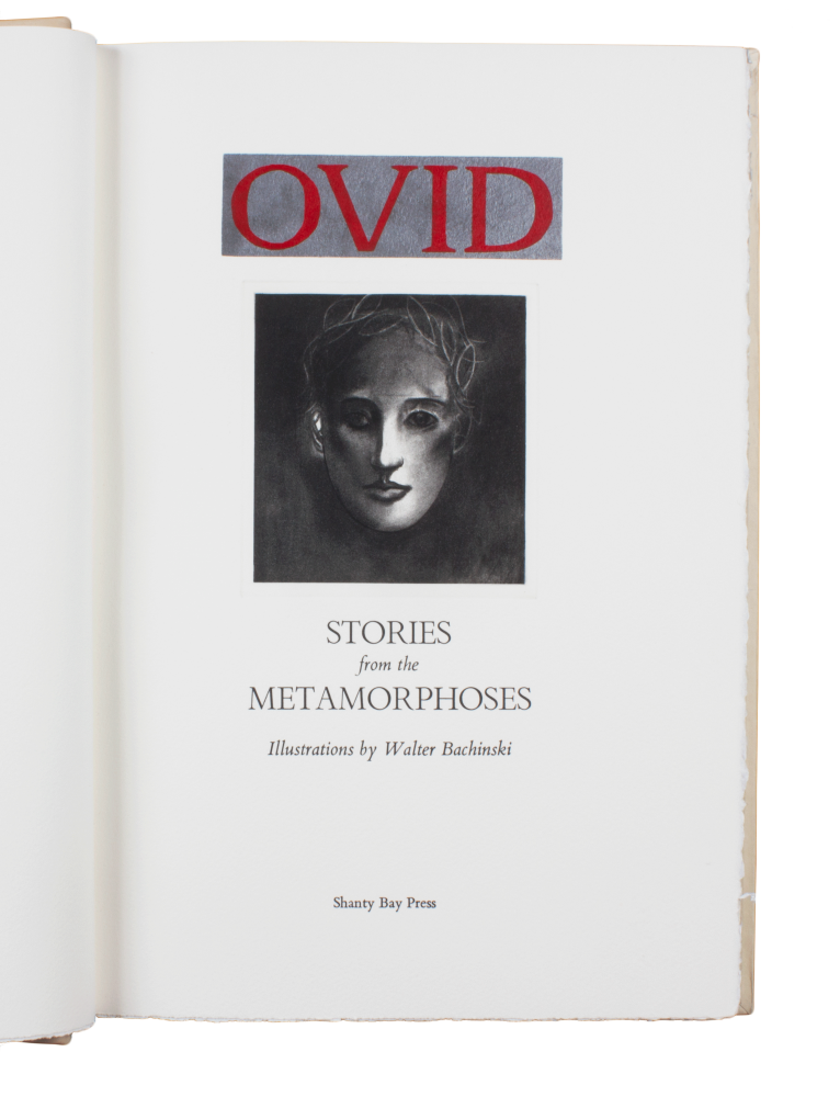 Ovid's Metamorphoses. trans Sir Samuel Garth, ed.