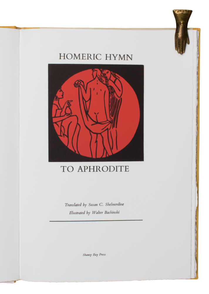 Homeric Hymn to Aphrodite; | Translated by Susan C. Shelmerdine | Illustrated by Walter Bachinski.