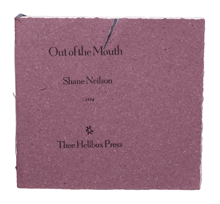 Out of the Mouth. Shane NEILSON.