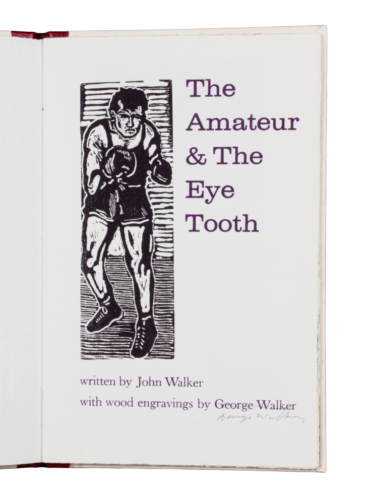 The Amateur and the Eye Tooth. John WALKER.