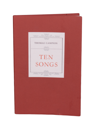 Ten Songs. Thomas CAMPION