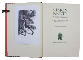 Simon Brett | An Engraver's Progress.; A Selection of Engravings | with an Introduction by the...