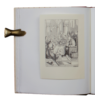 The Ingoldsby Legends | A Gallimaufry.; elected and Edited, with notes & an Afterword, by Crispin Elsted | Original Illustrations engraved by the Brothers Dalziel in London, circa 1870, from drawings by J.L.R. and here first published, printed from the wood.