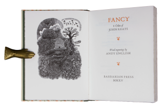 Fancy: 8 Odes of John Keats.; Wood engravings by Andy English. John KEATS