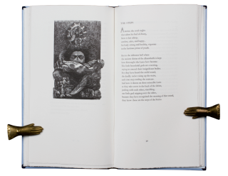 The Splendour of a Morning; | Early Poems of C.P. Cavafy | Translated from the Greek by David Smulders | Greek text edited by Anthony Hirst | with five wood engravings by Peter Lazarov.