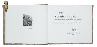 A Pebble's Journey; | The Grand River Observed by two Artists | words by Marianne Brandis | wood engravings by Gerard Brender à Brandis.