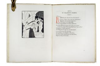 Song of Songs | called by many the Canticle of Canticles. Eric GILL, illus.