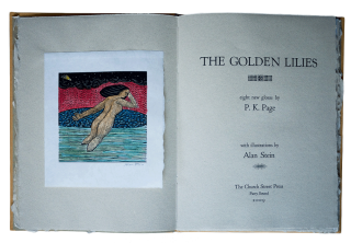 The Golden Lilies; | With an introduction by Zailig Pollock. P. K. PAGE