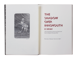 The Shadow Over Innsmouth; | with wood engravings by Shinsuke Minegishi based on drawings by...