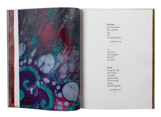Aurora Teardrops; | Poems by Harold Budd | Paintings by Jane Maru | Introduction by David Sylvian.