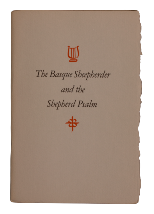 The Basque Sheepherder and The Shepherd Psalm.
