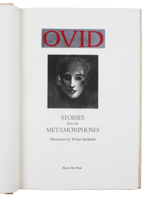 Ovid's Metamorphoses. trans Sir Samuel Garth, ed