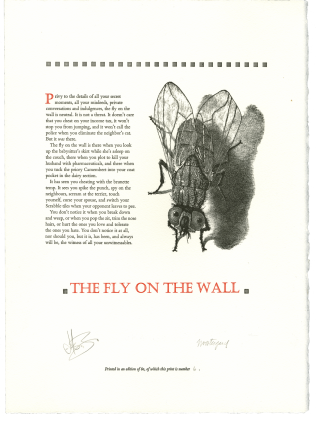 The Fly On The Wall. Jason BRINK, Jim WESTERGARD