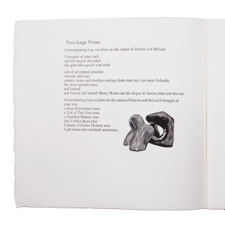 The Truth About Rabbits; | Wood engravings by Larry Thompson | A collaboration between Thee Hellbox Press & Greyweathers Press.