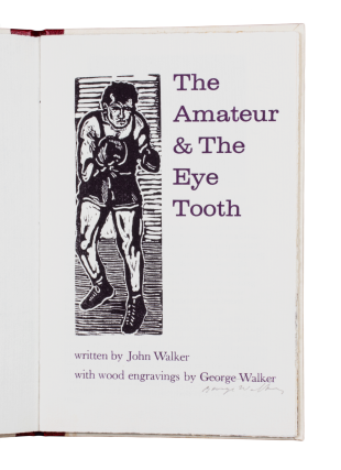 The Amateur and the Eye Tooth. John WALKER