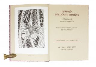 Gerard Brender à Brandis; | A Selection of Wood Engravings | With an Introduction by the Artist.
