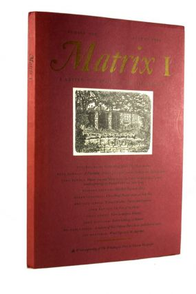 Matrix: A Review for Printers and Bibliophiles. WHITTINGTON PRESS