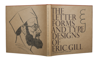 The Letter Forms and Type Designs of Eric Gill. Robert HARLING