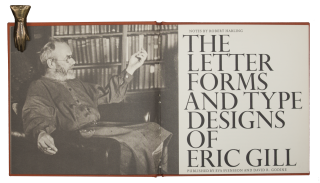 The Letter Forms and Type Designs of Eric Gill.