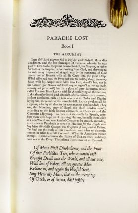 Poems in English with Illustrations by William Blake | Paradise Lost & Miscellaneous Poems.