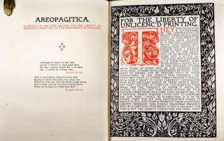 Areopagitica | A Speech of Mr. John Milton for the Liberty of Unlicen'd Printing to the Parlament of England.